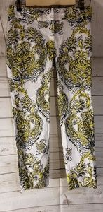 Ann Taylor Carnegie Multi Color Crop Pants